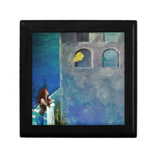 Mermaid and Fish at Undersea Castle Gift Box