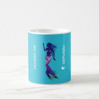 Mermaid and Golden Hook Coffee Mug