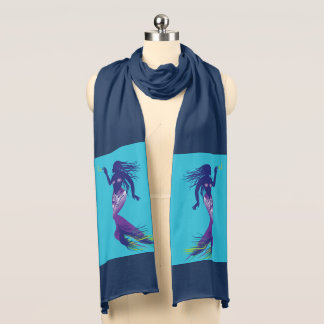 Mermaid and Golden Hook Scarf