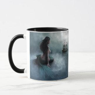 Mermaid and Pirate Ship Mug