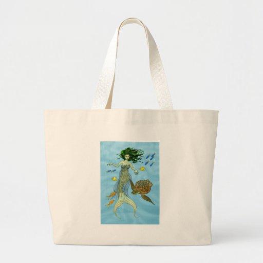 Mermaid and Sea Turtle Bags
