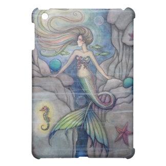 Mermaid and Seahorse Fantasy Art Molly Harrison Cover For The iPad Mini