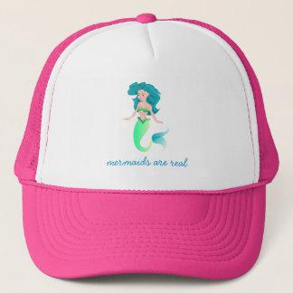 Mermaid Are Real - Cute Mermaid Cap
