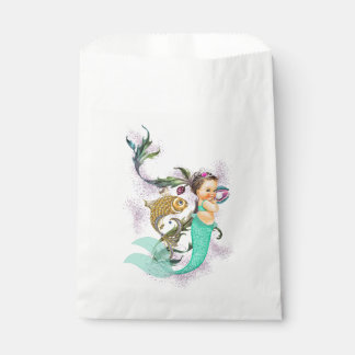 Mermaid Baby Shower Favour Bags