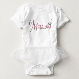Mermaid - Baby Tutu Baby Bodysuit