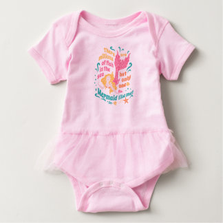 Mermaid Baby Tutu Baby Bodysuit