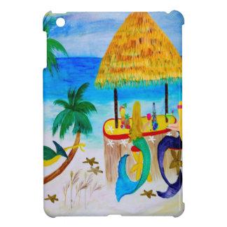 Mermaid Beach Tiki Bar Art iPad Mini Covers