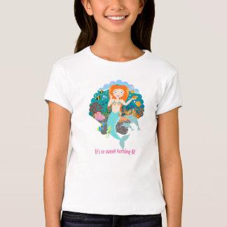 Mermaid Birthday Girl T-Shirt