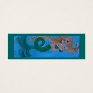 mermaid biz card