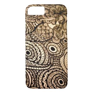 Mermaid Black and White iPhone 8/7 Case
