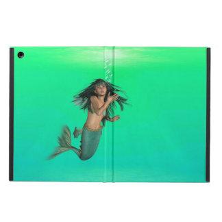 Mermaid Bubbles iPad Air Covers