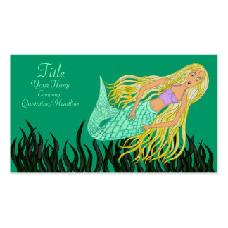 Mermaid Pack Of Standard Business Cards