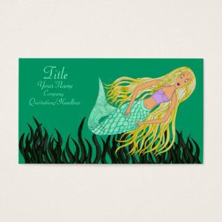 Mermaid Business Card