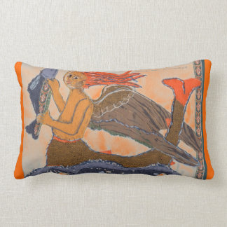 Mermaid by Alexandra Cook Lumbar Cushion