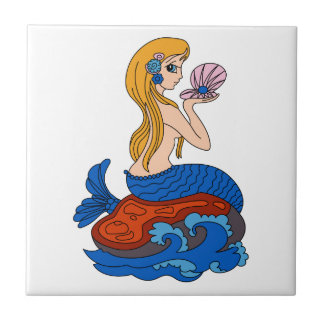 Mermaid Ceramic Tile
