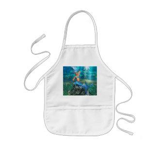 Mermaid Children's Smock Apron