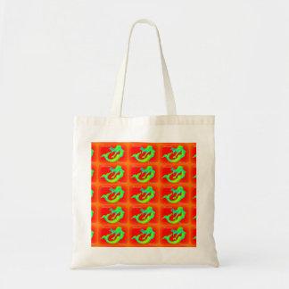 mermaid christmas mistletoe tote bag