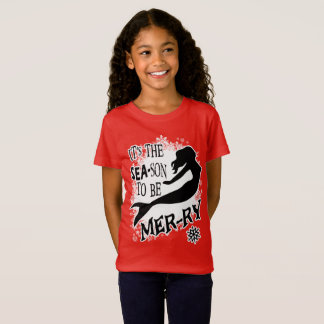 Mermaid Christmas T-Shirt