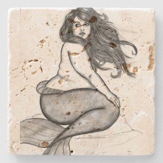 Mermaid Coster Stone Coaster
