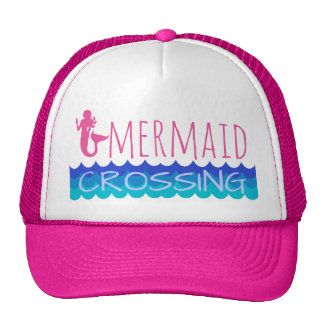 Mermaid Crossing Cap