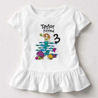 Mermaid Customizable Birthday T-shirt