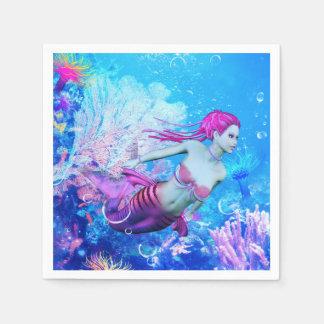 Mermaid Disposable Napkin