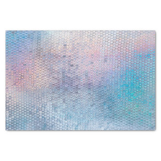 mermaid dream faux glitter sequin tissue paper