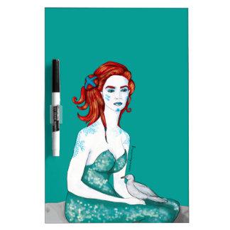 Mermaid Dry Erase Board