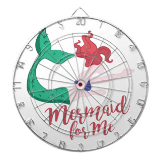 Mermaid For Me Dartboard