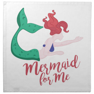 Mermaid For Me Napkin