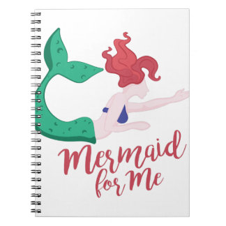 Mermaid For Me Notebooks