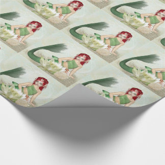 Mermaid Gift Wrap, wrapping paper roll