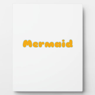 Mermaid Gifts and Shirts Plaque