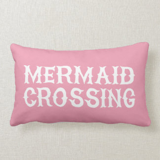 Mermaid Girls Nursery Bedroom Decor Pillow