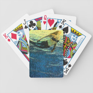 Mermaid Greeting the Dawn Bicycle Playing Cards