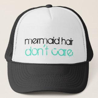 Mermaid Hair Don't Care | Tropical Beach Vacation Trucker Hat