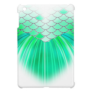 Mermaid heart with scale art cover for the iPad mini