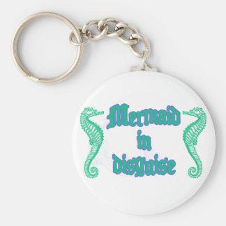 Mermaid in Disguise Key Ring