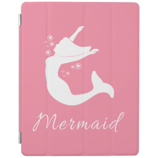 Mermaid in Silhouette iPad Cover