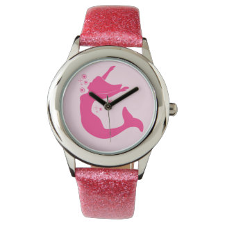 Mermaid in Silhouette Watch