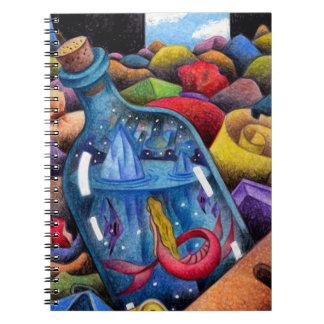Mermaid in the bottleMermaid in the bottle Notebooks