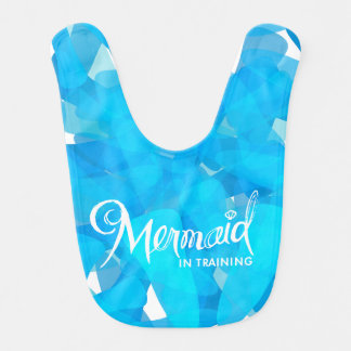 Mermaid In Training Bib