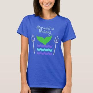 Mermaid in Training Shirt