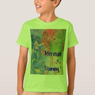Mermaid in Training! t-shirt