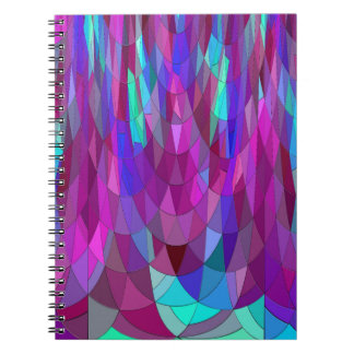 Mermaid in Turquoise.... Spiral Notebook
