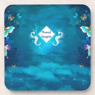 mermaid incognito coaster