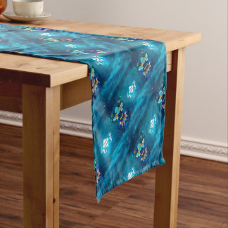 mermaid incognito short table runner
