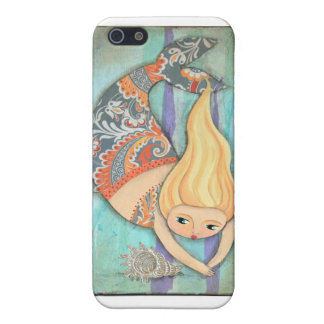 Mermaid iPhone 5C Matte Finish Case Case For iPhone 5/5S