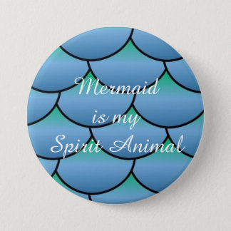 Mermaid is my Spirit Animal 7.5 Cm Round Badge