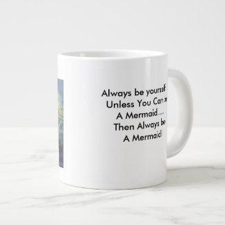 Mermaid Jumbo Coffee Cup Jumbo Mug